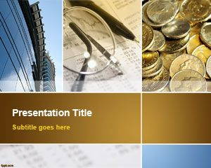 Business Collage PowerPoint Template is FREE for downloading