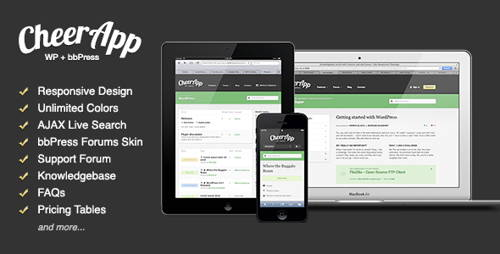 CheerApp-technology responsive wordpress theme