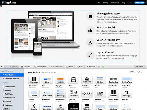 DMS-5 Free WordPress Theme for April 2014