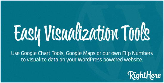 Download WordPress Plugin: Easy Visualization Tools
