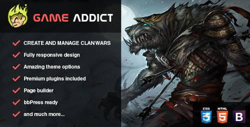 Game Addict-technology responsive wordpress theme