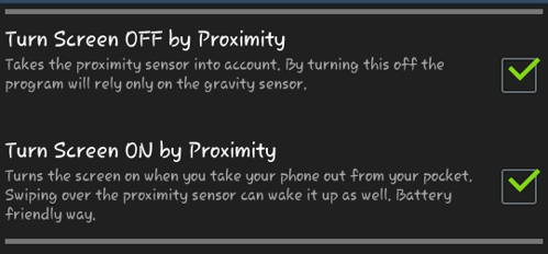 Automatically Turn Android Screen On And Off With Gravity Screen App 2
