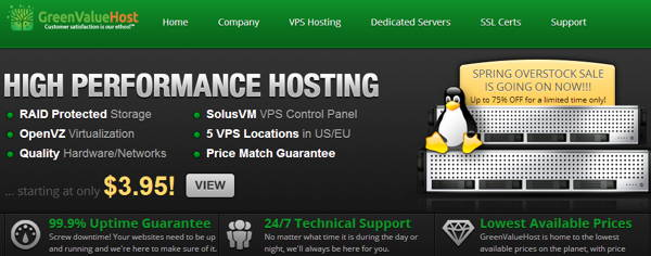 GreenValueHost-vps hosting