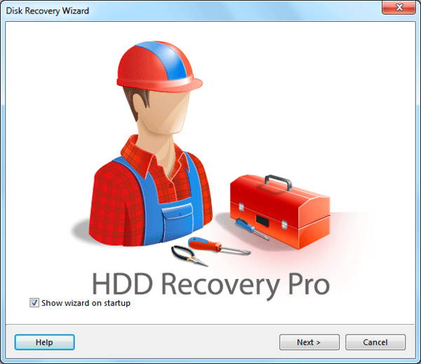 HDD Recovery Pro - a data recovery tool for Windows that allows you to restore lost or accidentally files