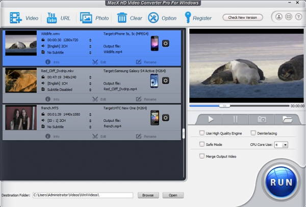 Giveaway of MacX HD Video Converter Pro (Off 100%)