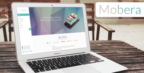Mobera-technology responsive wordpress theme