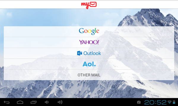 Mymail screenshot 2- An responsive email app for android