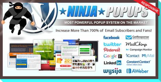 Ninja Popups for WordPress-10 Best paid Content Locker plugins for WordPress