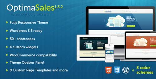 OptimaSales-technology responsive wordpress theme