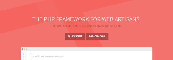 The php frame work for web artisans