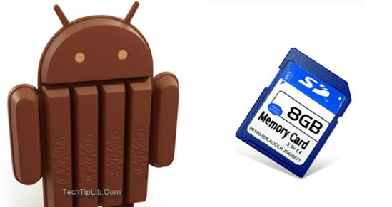 SD Android KitKat-How to fix the problem in writing to the SD Android KitKat