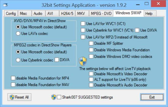 The audio and video codec package - STANDARD Codecs for Windows 7 and 8 available today