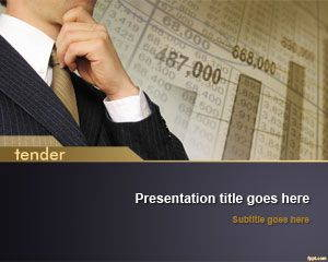 Tender PowerPoint Template is FREE for downloading