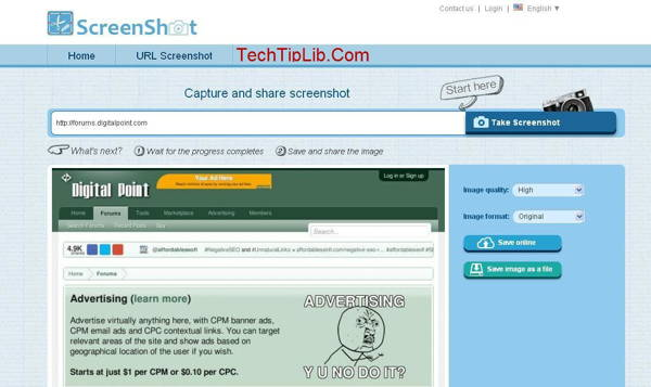 Webpage Screenshot Capture review