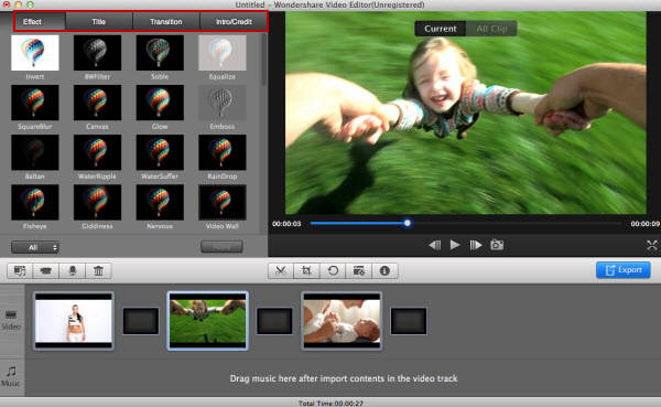 This is a powerful video editing tool which offers a diverse variety of tools (cut, edit, merge, and trim clips) to let you unleash your creativity to design the film is full of professionalism.