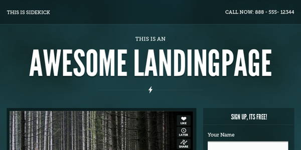 Your Landing Page Needs To Create An Awesome First Impression!