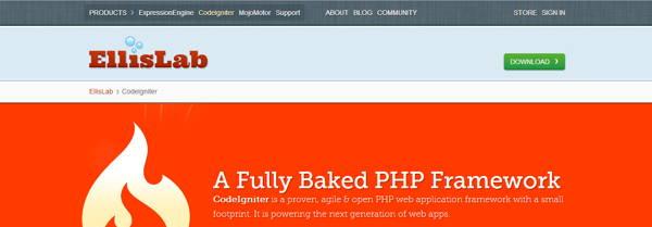 A full baked php framework