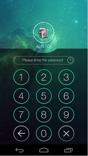 AppLock can Lock screenshot of Android Apps