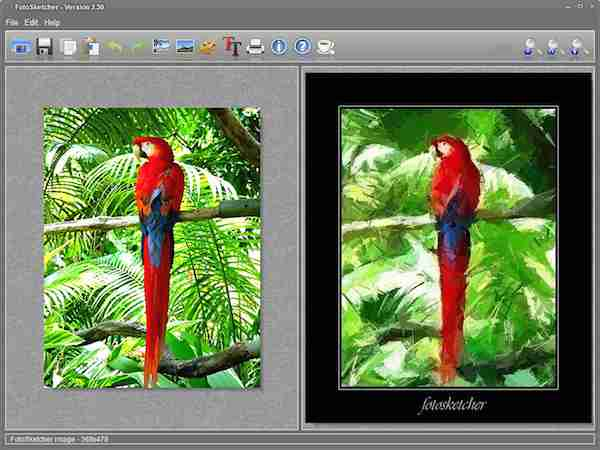 Download the FotoSketcher Portable
