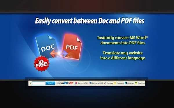 FromDocToPDF - A Free PDF Converter extension for Chrome