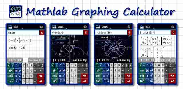 Get FREE Graphing Calculator by Mathlab (PRO) for your Android