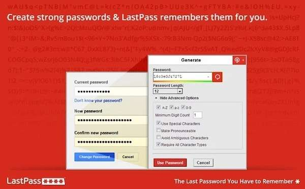 Chrome Extension: LastPass - The free Password Manager