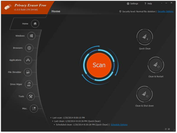 Giveaway of Privacy Eraser Pro 2.2.0