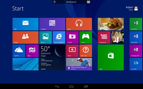 Microsoft Remote Desktop App for Android and iOS 1