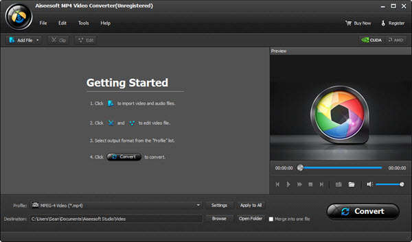 Giveaway of Aiseesoft MP4 Video Converter