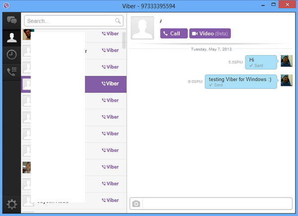 Viber now available for Windows 1
