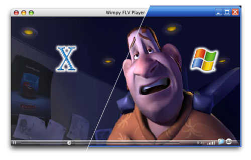 Wimpy FLV Player - Free FLV Player for Windows & Mac