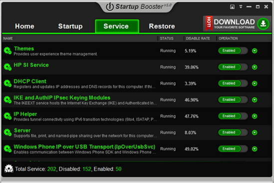 Improve Boot time of Windows with Anvi Startup Booster 2