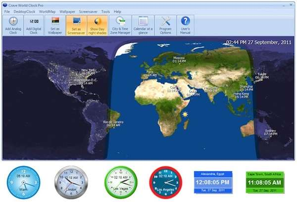 Giveaway Crave World Clock Pro
