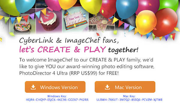 Giveaway of CyberLink PhotoDirector 4 for Win & Mac 2