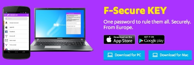 Giveaway of F-Secure Key for PC, Mac, smartphones and tablets