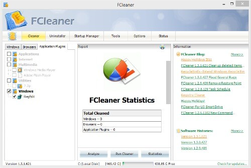 get free Fcleaner