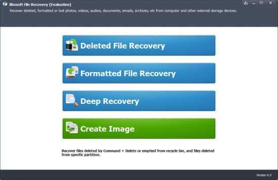 Giveaway of Jihosoft File Recovery 1
