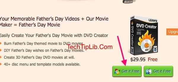 Giveaway of Leawo DVD Creator for Father's Day 2014