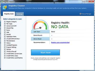 Pointstone Registry Cleaner-free registry Cleaner