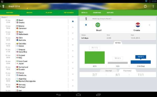 4 Free Apps For World Cup Brazil 2014 (Android & iOS) 4