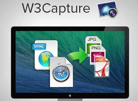 Giveaway of W3Capture for Mac (Save $18) 1