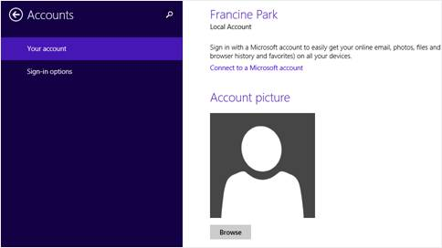 How to set up the Mail app for Windows 8 2