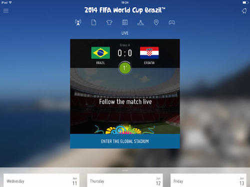 4 Free Apps For World Cup Brazil 2014 (Android & iOS) 2