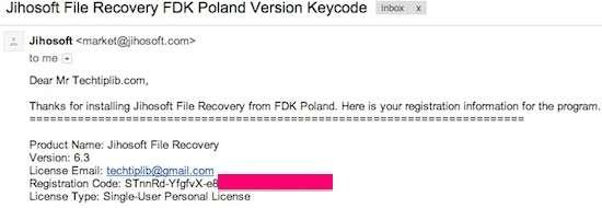 jihosoft file recovery license key
