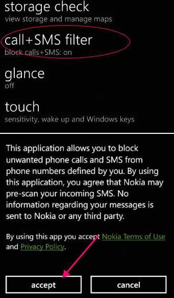 Blocked mobile phone , mobile phone blocker Select