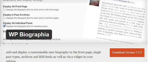 author box WordPress plug-ins -Author Box Reloaded