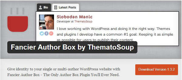 author box WordPress plug-ins-Fancier Author Box