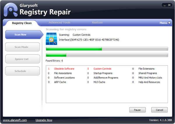 Registry Repair-free registry Cleaner