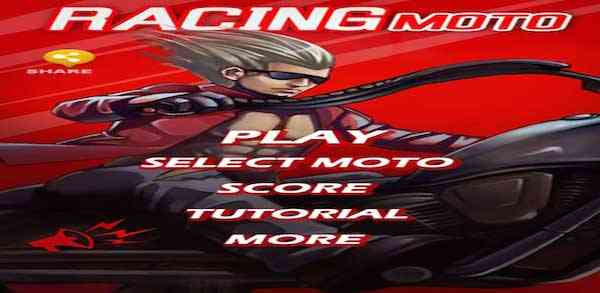 Android game Racing Moto
