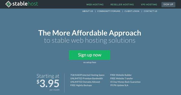 StableHost web
